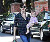 Photo Slide of Jennifer Garner And Seraphina Affleck in LA