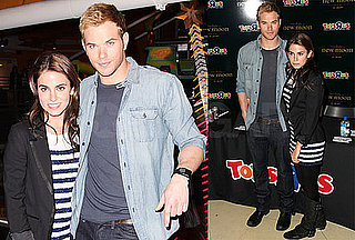 Kellan and Nikki Check Out Toys Before One More NM Screening