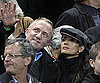Slide Photo of Salma Hayek and Francois Henri Pinault at World Cup Game