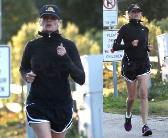 Photos of Julia Roberts Running in LA