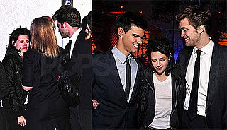 Photos of Robert Pattinson, Kristen Stewart, and Taylor Lautner at the New Moon Afterparty 2009-11-17 07:10:03
