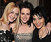 Slide Photo of Kristen Stewart, Dakota Fanning and Joan Jett at New Moon Premiere