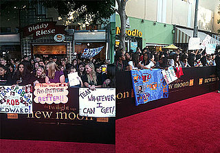 Live From the New Moon Red Carpet!