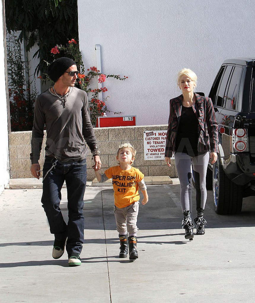 Photos of Gwen, Gavin, Zuma and Kingston