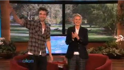 Robert Pattinson's Appearance on The Ellen DeGeneres Show 2009-11-20 09:51:43