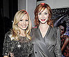 Slide Photo of Kristen Bell and Christina Hendricks