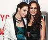 Slide Photo of Michelle Trachtenberg and Leighton Meester on Red Carpet in NYC