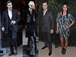 Photos of Gossip Girl's Chace Crawford, Ed Westwick, Taylor Momsen, and Jessica Szhor in NYC 2009-11-17 11:30:07