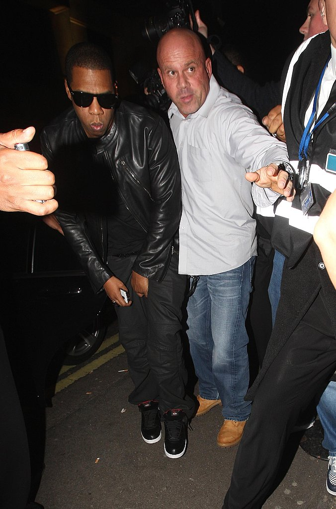 Photos of Jay-Z and Beyonce in London