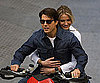 Slide Photo of Tom Cruise and Cameron Diaz Filming in Spain