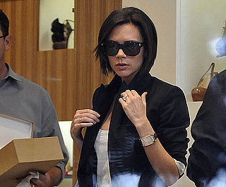 Photo Slide of Victoria Beckham Shopping at Barneys in LA