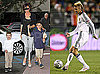 Photos of Victoria Beckham, Romeo Beckham, Brooklyn Beckham, And Cruz Beckham in LA