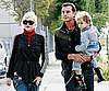 Slide Photo of Gwen Stefani and Gavin Rossdale With Kingston in LA