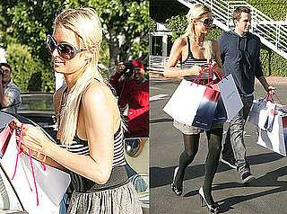 Photos of Paris Hilton and Doug Reinhardt Shopping Together in LA 2009-11-28 06:00:00