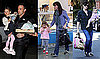 Photos of Ben Affleck, Jennifer Garner, Violet Affleck, And Seraphina Affleck in LA