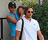 Slide Photo of Gabriel Aubry, Halle Berry and Nahla in LA