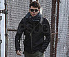 Slide Photo of John Mayer Wearing Coat Around NYC