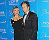 Slide Photo of Tea Leoni and David Duchovny at Snowflake Ball