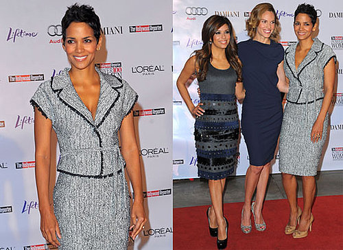 Photos of Halle Berry, Eva Longoria, and Hilary Swank at the Women in Entertainment Breakfast