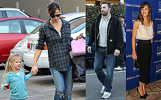 Photos of Ben Affleck, Jennifer Garner and Violet Affleck Running Errands in LA