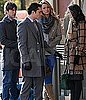 Photos of Chace Crawford, Jessica Szohr and Penn Badgley Filming on the Set of Gossip Girl in NYC