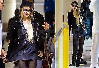 Photos of Lindsay Lohan at LAX