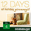 12 Days of Holiday Giveaways, Day 4: $1,000 Gift Card From HomeGoods! 