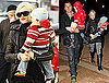 Photos of Gwen Stefani, Gavin Rossdale, Kingston Rossdale and Zuma Rossdale Together in London