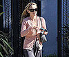 Slide Photo of Reese Witherspoon Leaving Friends House In LA