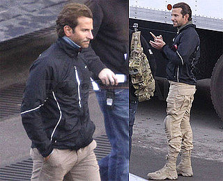 Photos of Bradley Cooper Filming the A-Team in Vancouver