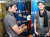 Photos of Peter Facinelli Visiting SIRIUS Radio in NYC