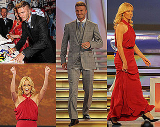 Photos of David Beckham and Charlize Theron at the World Cup Draw in South Africa 2009-12-04 12:30:09