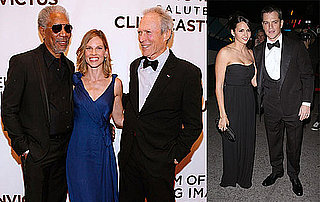Photos of Matt Damon, Luciana Damon, Morgan Freeman, Hilary Swank, Kevin Bacon, Kyra Sedgwick Honoring Clint Eastwood 2009-12-02 08:30:08