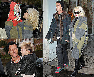 Photos of Gwen Stefani and Gavin Rossdale Shopping in London