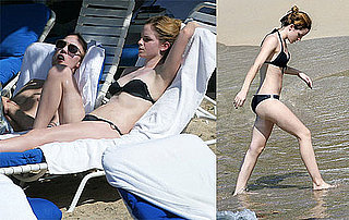 Photos of Emma Watson in a Bikini on Vacation in Jamaica With Jay Barrymore
