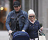 Slide Photo of Will Arnett and Amy Poehler Walking in NYC