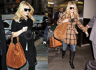 Photos of Jessica Simpson Heading From NYC to LAX