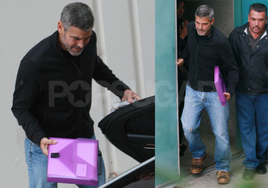 Photos of Clooney and Anna Kendrick