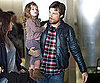 Slide Photo of Jason Bateman Carrying Francesca Out of LAX