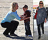 Photos of Britney Spears and The Boys in Santa Barbara 2009-12-09 15:57:01