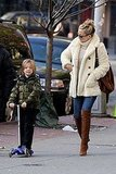Photos of Kate Hudson and Ryder in NYC