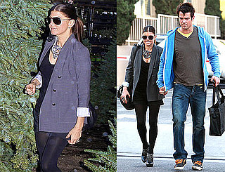 Photos of Josh Duhamel and Fergie Shopping for Christmas Trees Together in LA