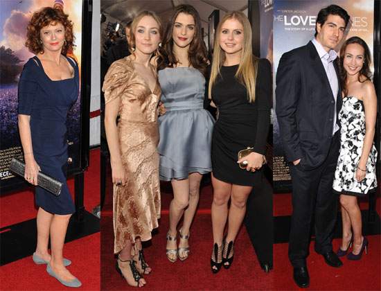 Photos of The Lovely Bones Premiere in LA 2009-12-08 13:52:48