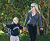 Slide Photo of Reese Witherspoon with Deacon In LA