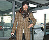 Slide Photo of David Beckham at Heathrow Airport