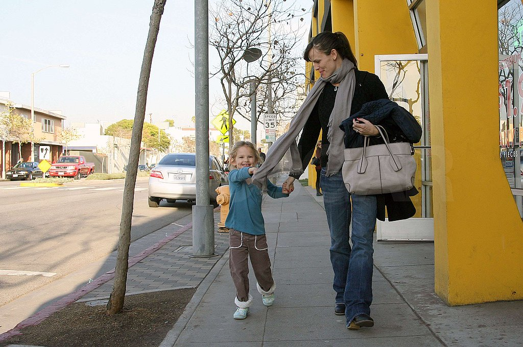 Photos of Ben Jen and Violet in LA