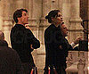 Slide Photo of Tom Cruise and Katie Holmes at The Seville Cathedral in Spain