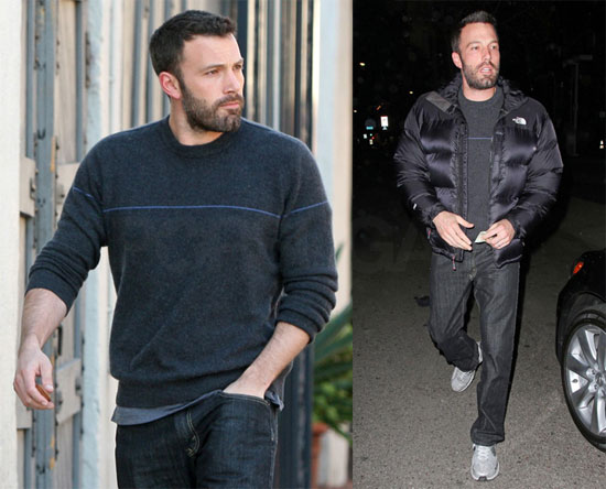 Photos of Ben Affleck With a Beard in LA 2009-12-09 08:40:19