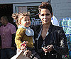 Slide Photo of Halle Berry and Nahla Aubry in LA