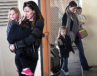 Photos of Jennifer Garner and Violet Affleck in LA